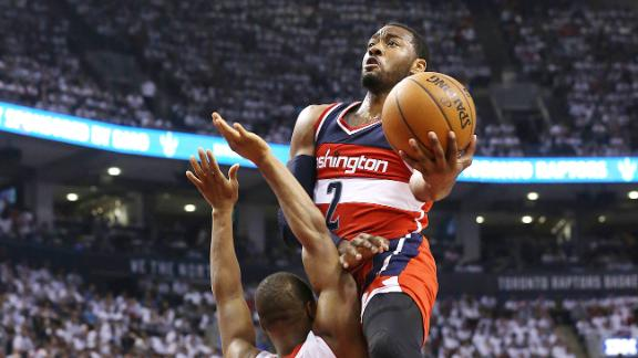 Wizards let Raptors back in, but win Game 1 in OT behind Paul P…