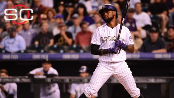 Rockies SS Jose Reyes suspended through May 31 - ABC News