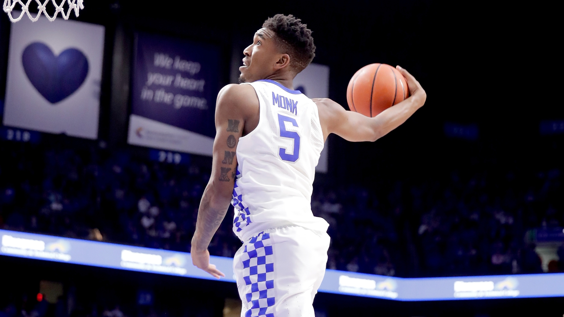 Malik monk stole my heart the ringer own last name tattooed on his left triceps sciox Gallery