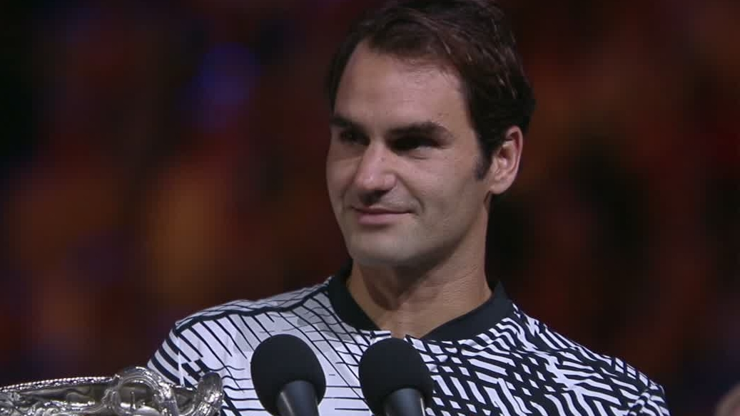 Dm 170129 tennis roger federer speech