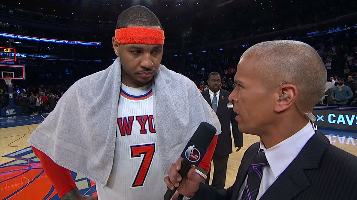 Dm 170212 nba carmelo anthony interview