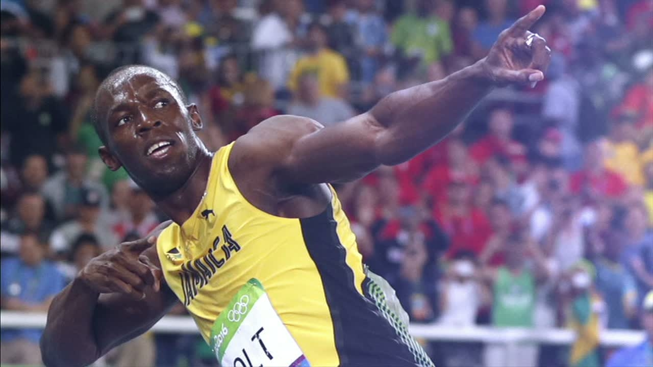 quality design 789a8 1aa0d Usain Bolt s triple-triple a fitting end to a prolific Olympic career