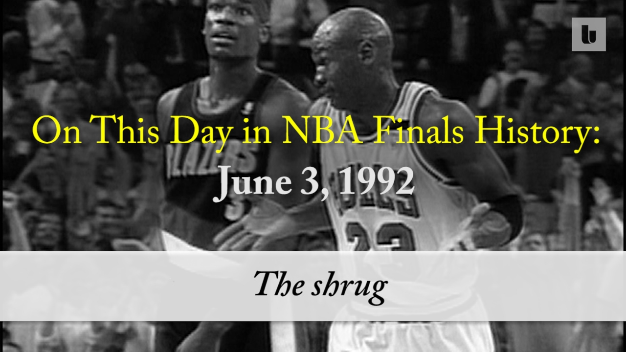 1590012f2f0d On this day in NBA Finals history  Michael Jordan s  Shrug Game