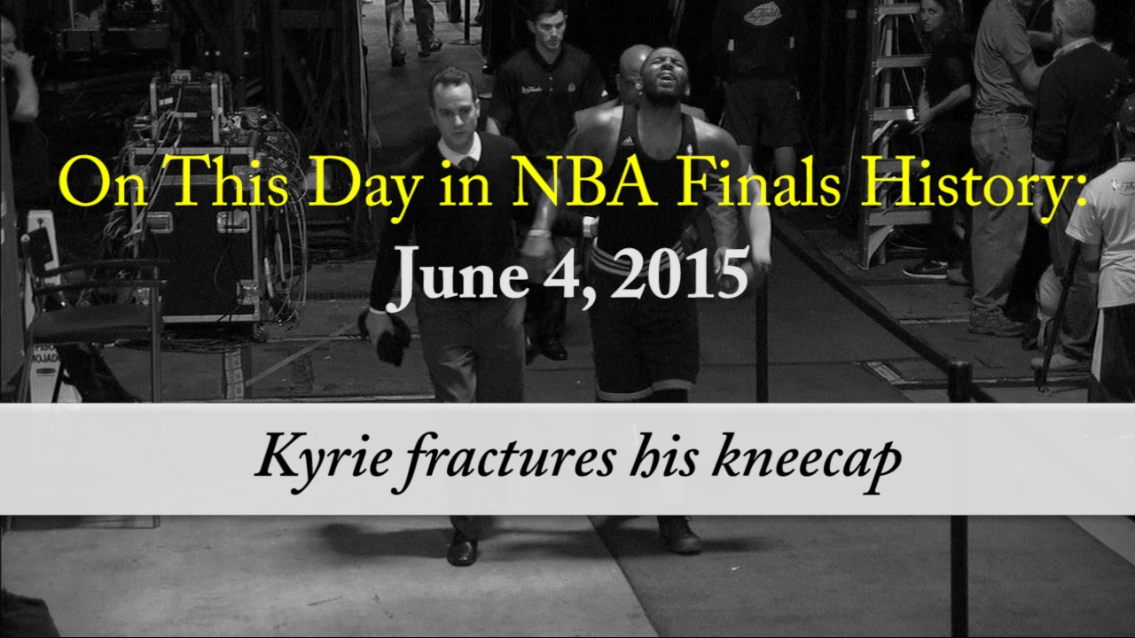 43478da18fb On this day in NBA Finals history: Kyrie Irving fractures his kneecap in  2015