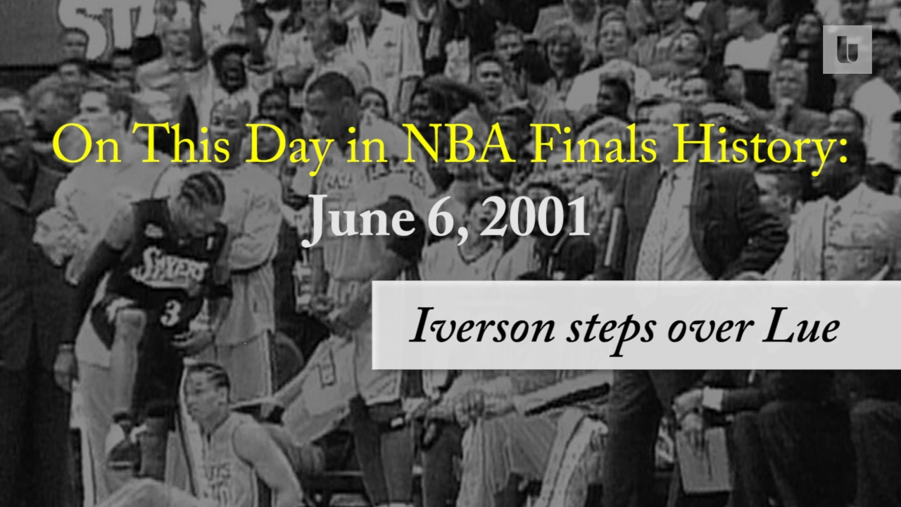 3b5cdf03cda On this day in NBA Finals history  Allen Iverson steps over Tyronn Lue