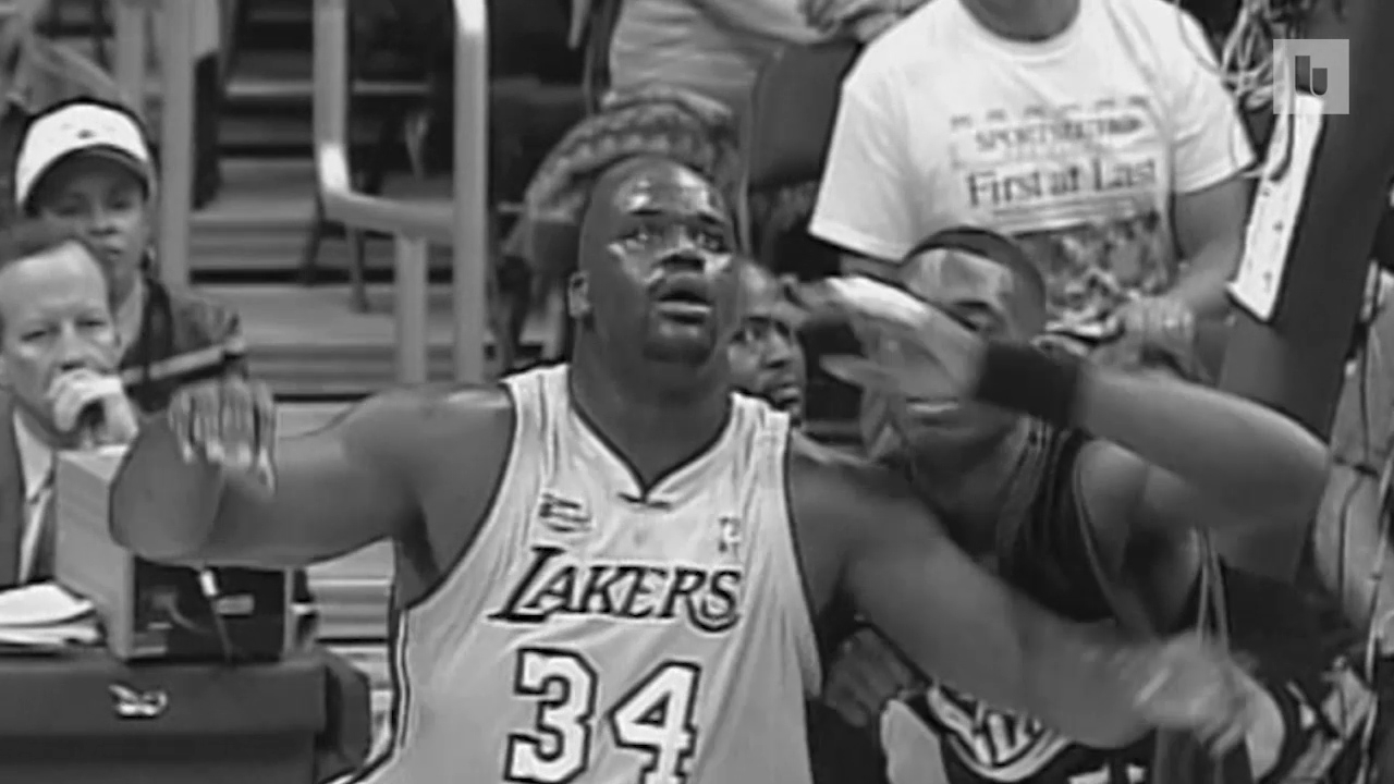 9328e615 On this day in NBA Finals history: Shaquille O'Neal drops a near  quadruple-double