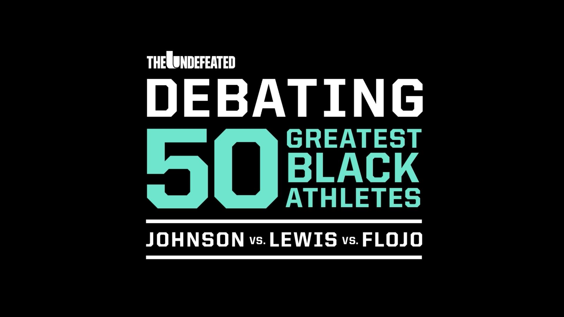 34dba59e 50 Greatest Black Athletes debate: Track and Field Stars