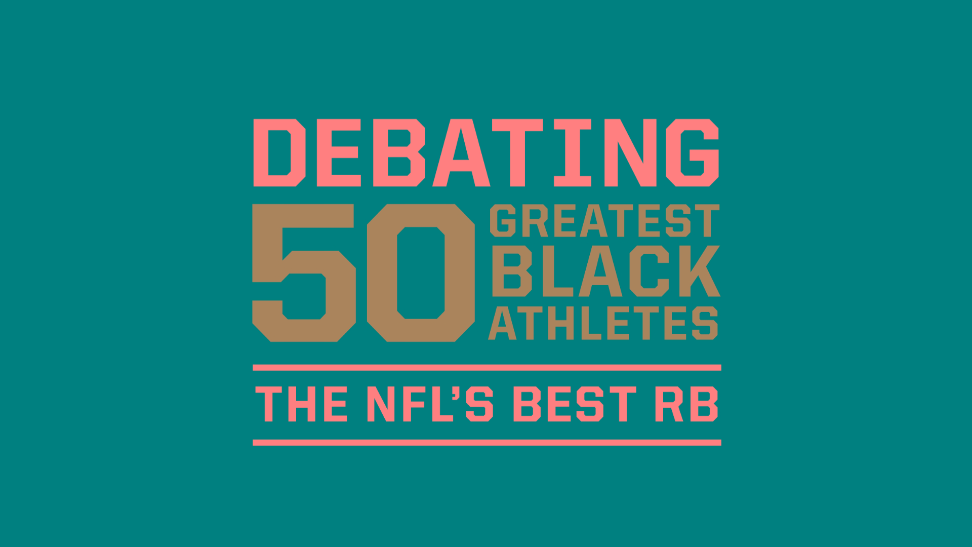 low priced 1223f 97336 50 Greatest Black Athletes debate  The NFL s best RB