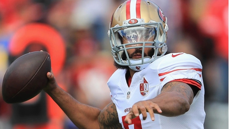 Say goodbye to Colin Kaepernick as an NFL player
