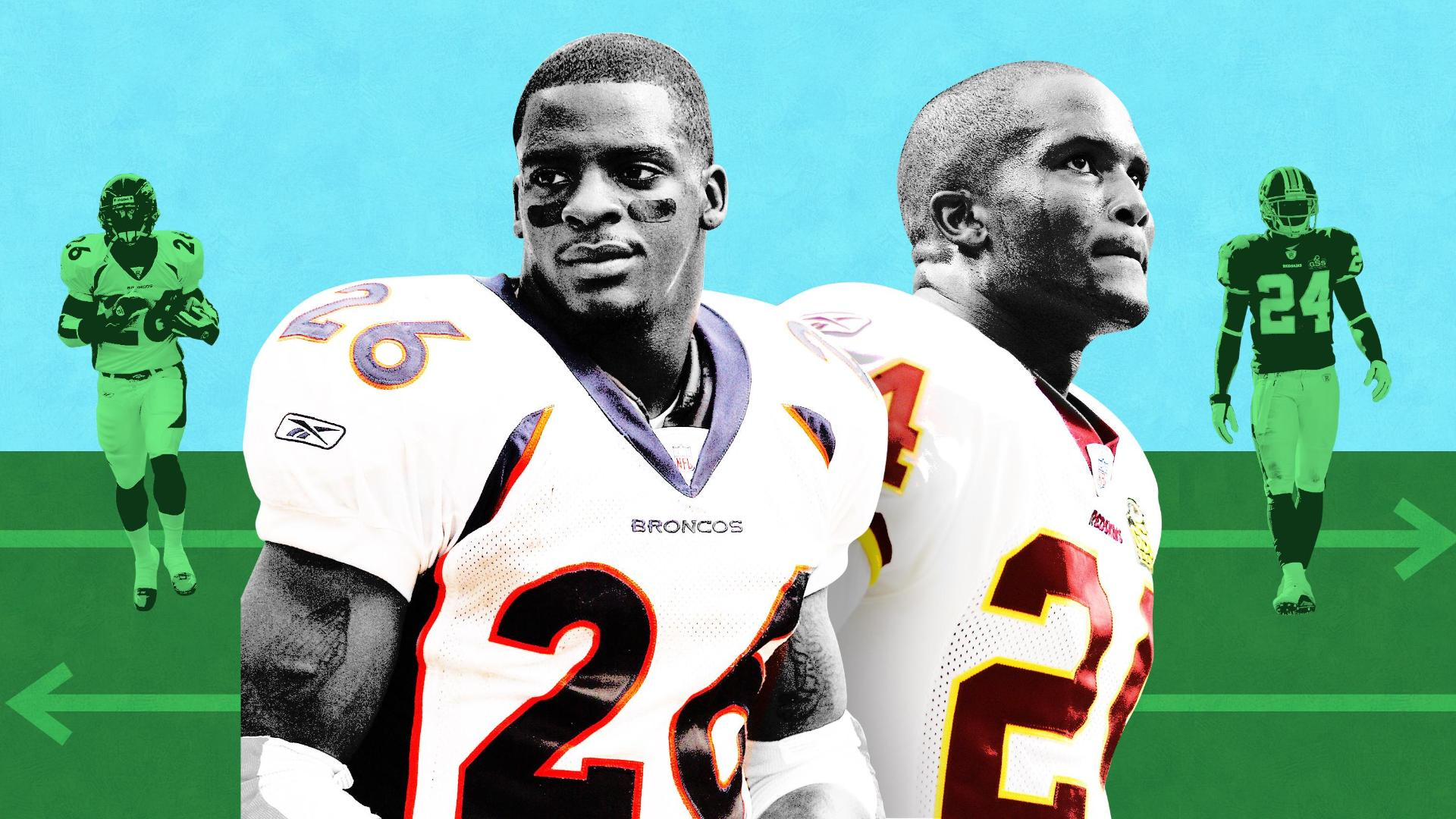 brand new 4de8d 203f9 Champ Bailey, Clinton Portis and their blockbuster trade