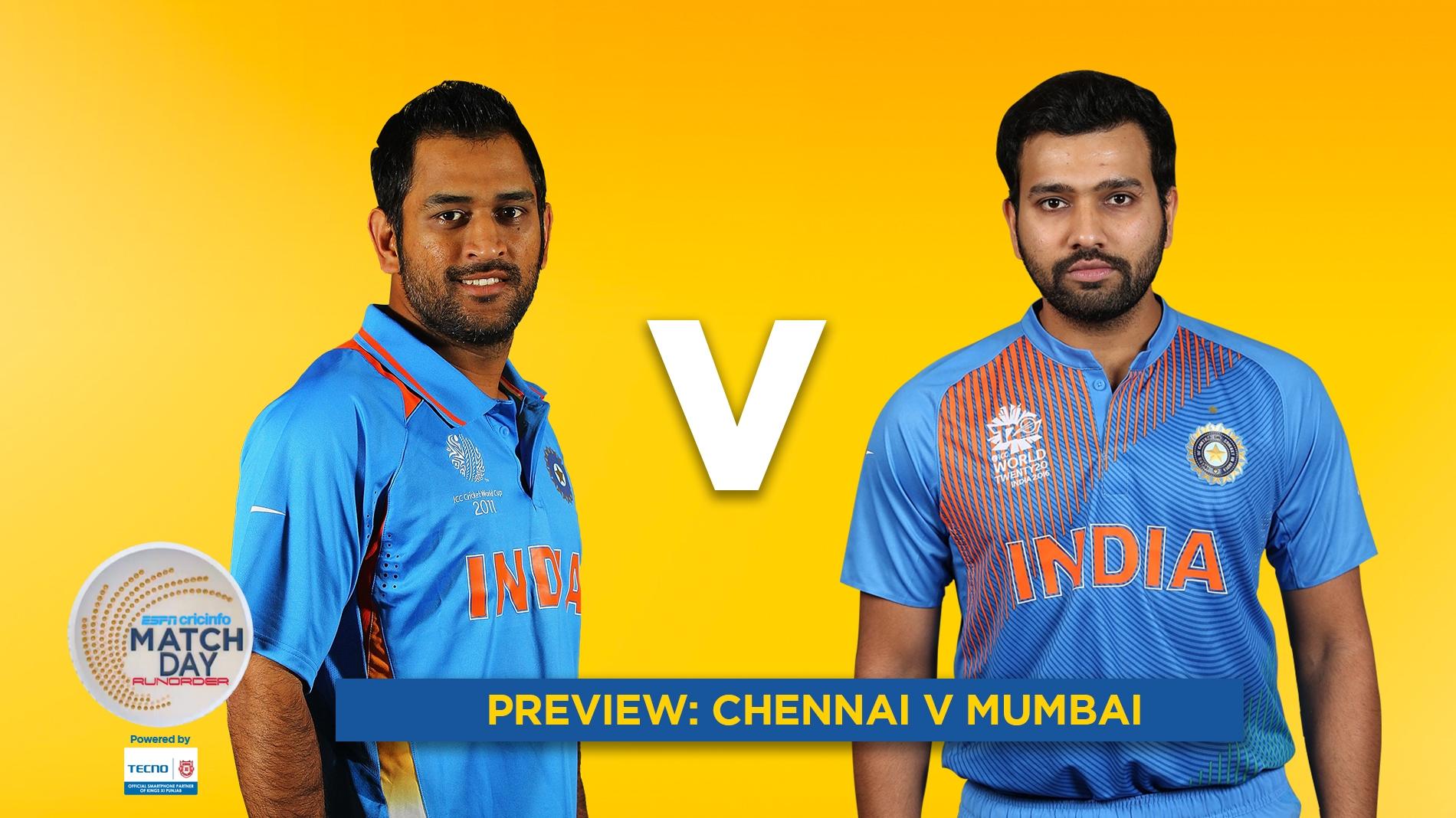 a1748e0b3 Get Ball by Ball Commentary of Chennai Super Kings vs Mumbai Indians,  Indian Premier League, 27th match | ESPNcricinfo.com