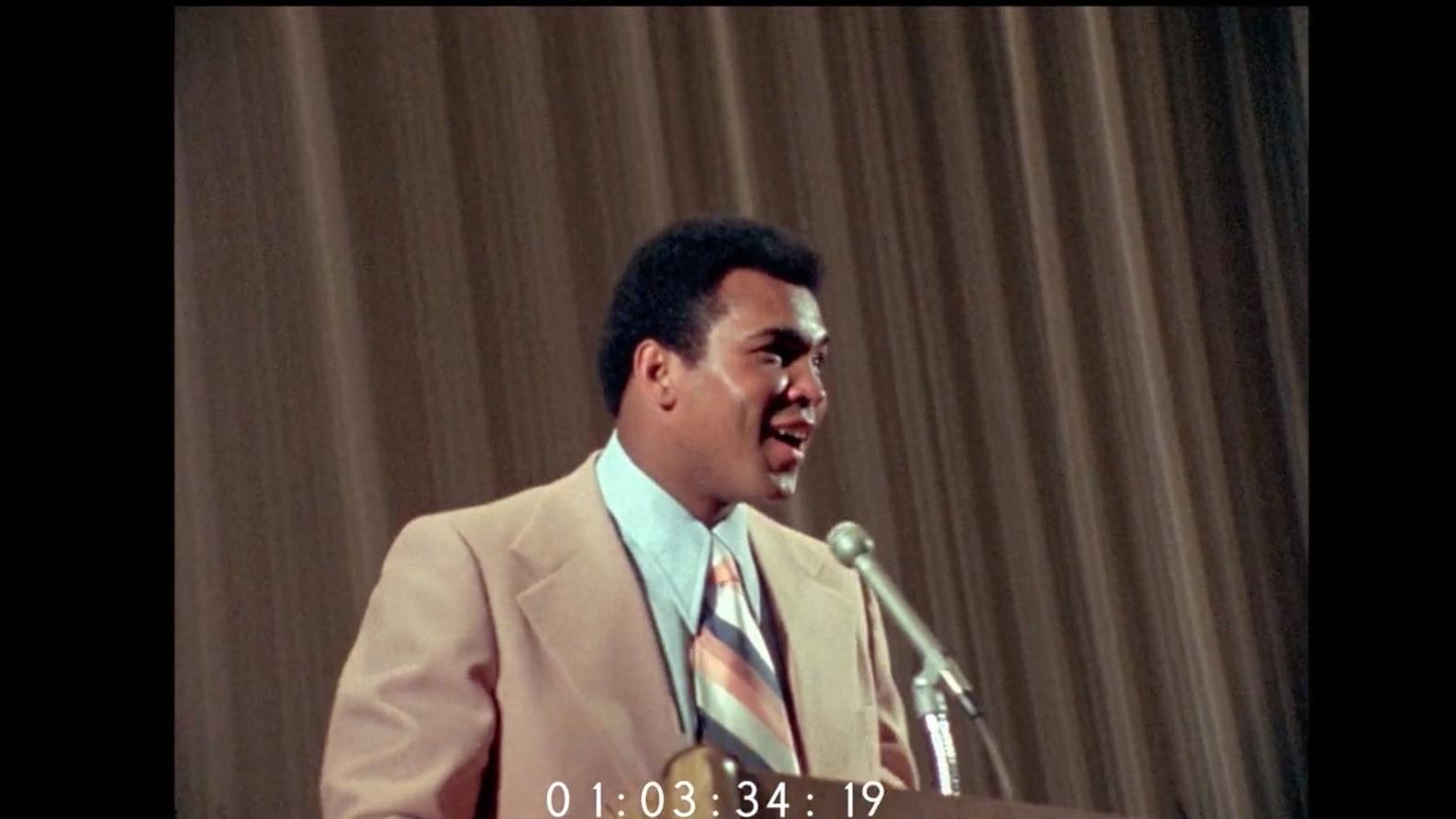 In 1975, Harvard got a glimpse of Muhammad Ali's true greatness
