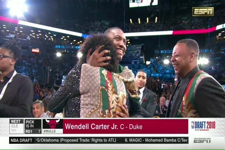 f5a832f2446a The NBA journey begins for Wendell Carter Jr. and his family in Chicago