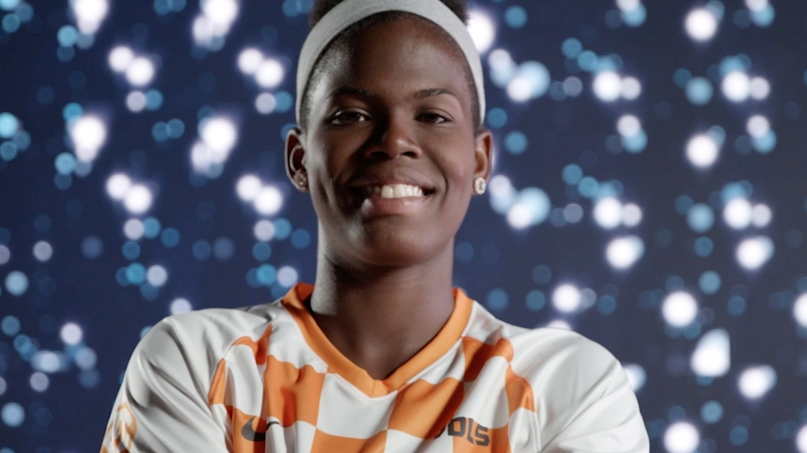 Jamaican soccer star 'Bunny' Shaw not letting tragedy stop