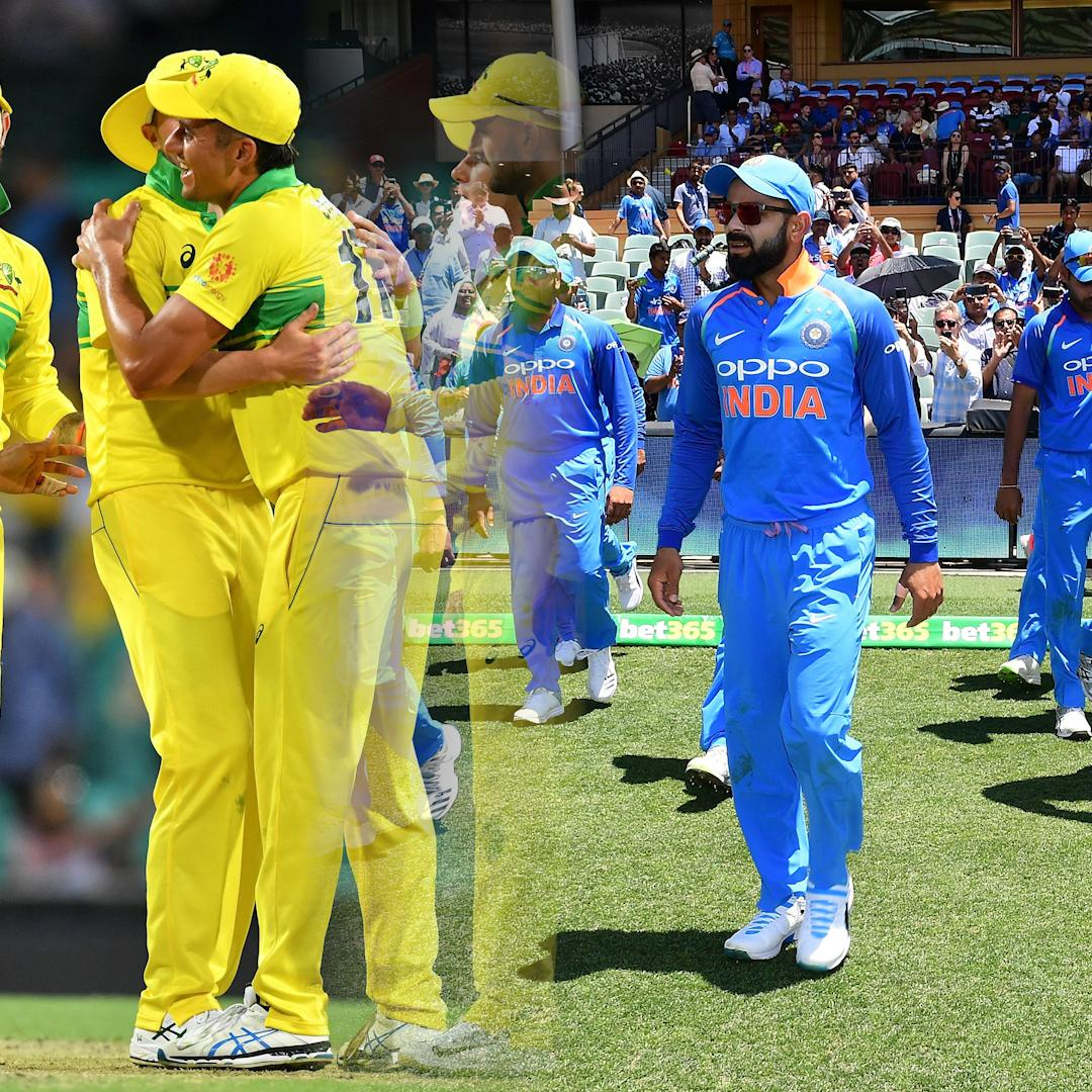 India beat Australia by 7 wickets (with 4 balls remaining