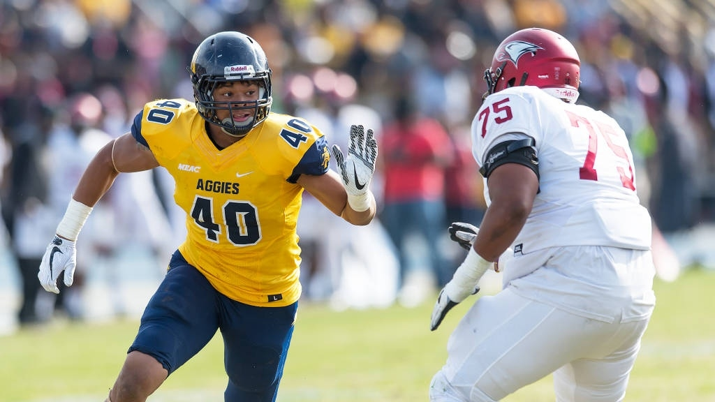Even with a year of eligibility left, N.C. A&T's Darryl Johnson believes he's NFL-ready