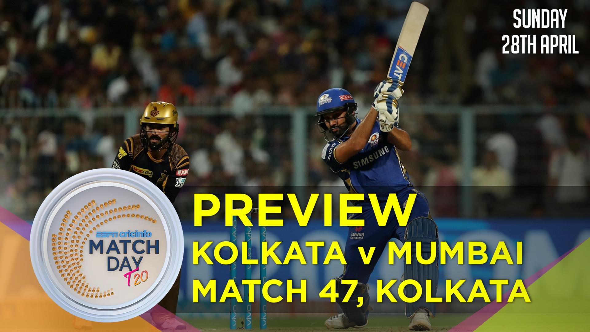 Kolkata Knight Riders beat Mumbai Indians by 34 runs