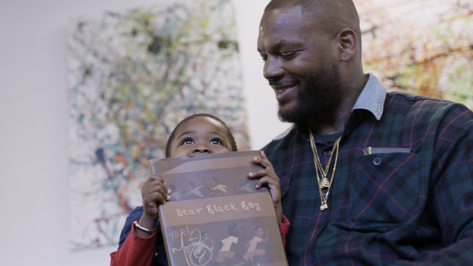 Martellus Bennett pens a personal message with 'Dear Black Boy'
