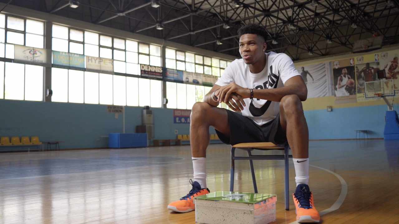 465bbafd9 The story behind Giannis Antetokounmpo's first Nike signature sneaker