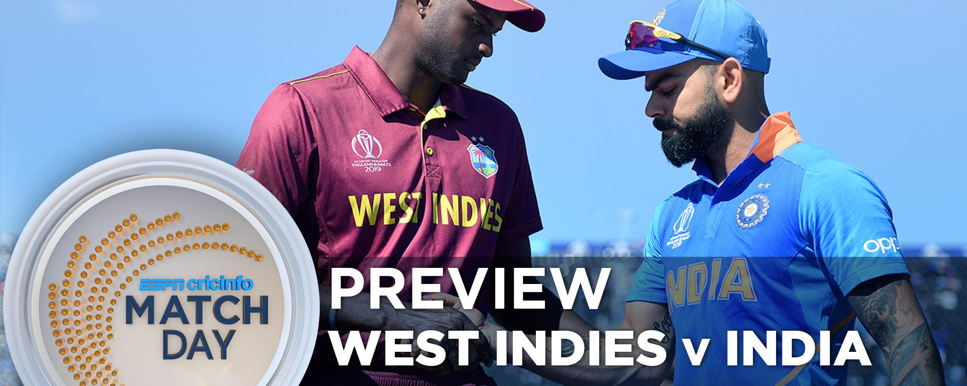 Recent Match Report West Indies Vs India 1st Odi 2019
