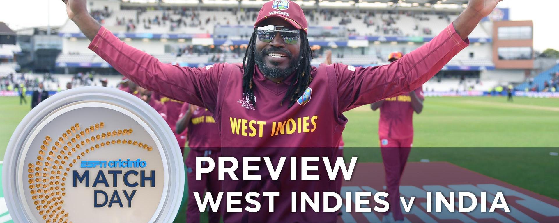 India beat West Indies by 59 runs (D/L method) - West Indies