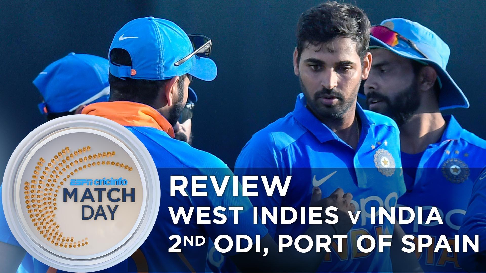 Full Scorecard Of West Indies Vs India 2nd Odi 2019 Score