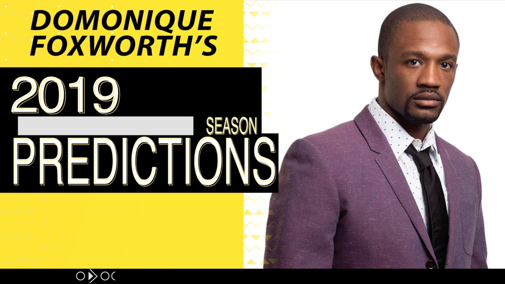 Domonique Foxworth's NFL predictions for the upcoming season