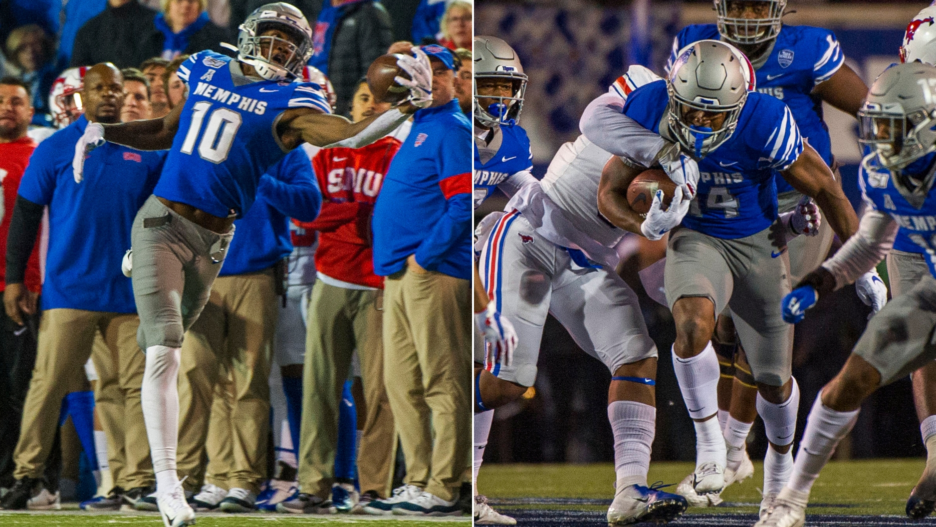 Memphis Gibson Coxie Combine For 531 Total Yards Vs Smu Watch Espn