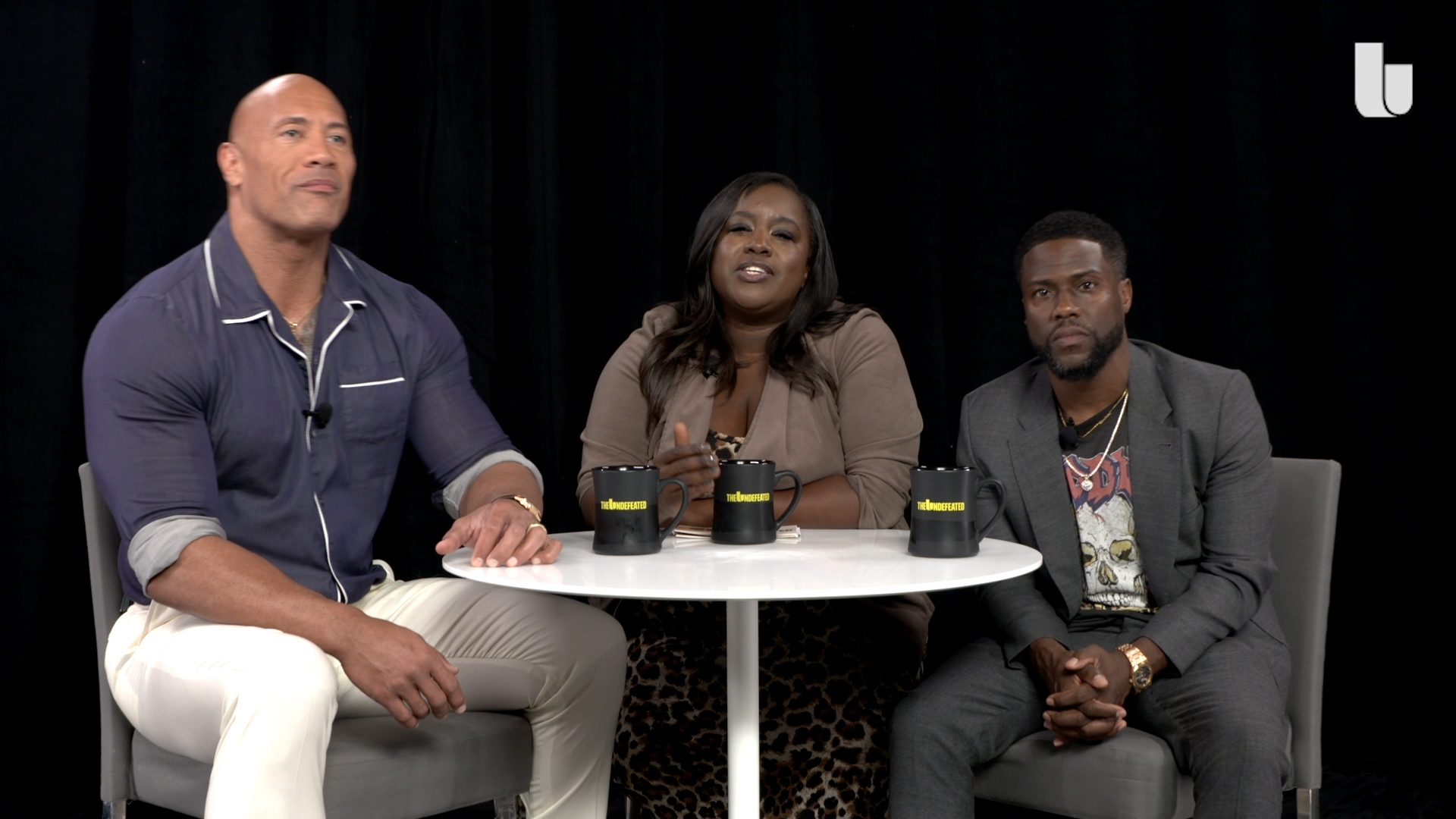 Special Edition Roundtable Dwayne Johnson And Kevin Hart On