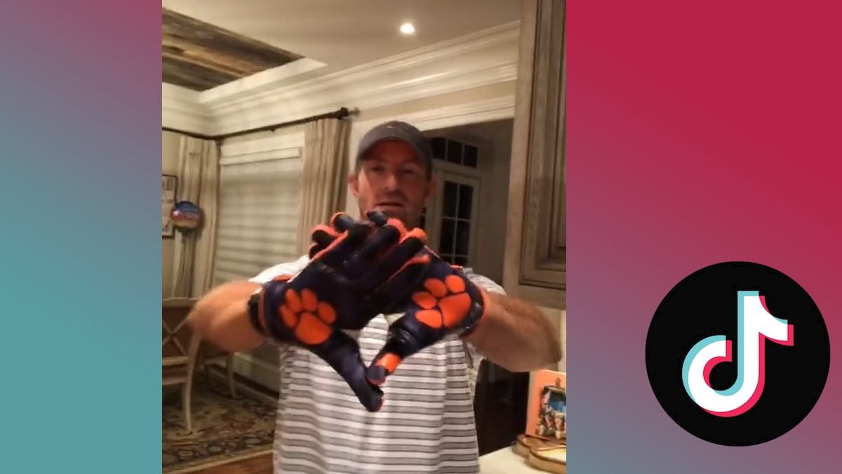 Dabo Swinney busts a rhyme in his TikTok debut | Watch ESPN