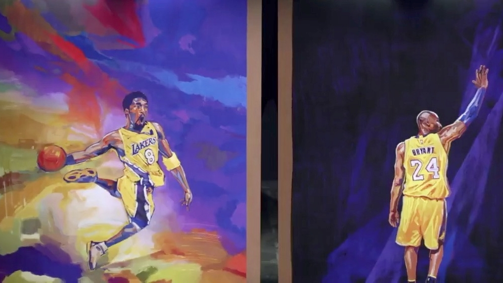 Inside The Creation Of The Kobe Bryant Nba 2k21 Covers Watch Espn