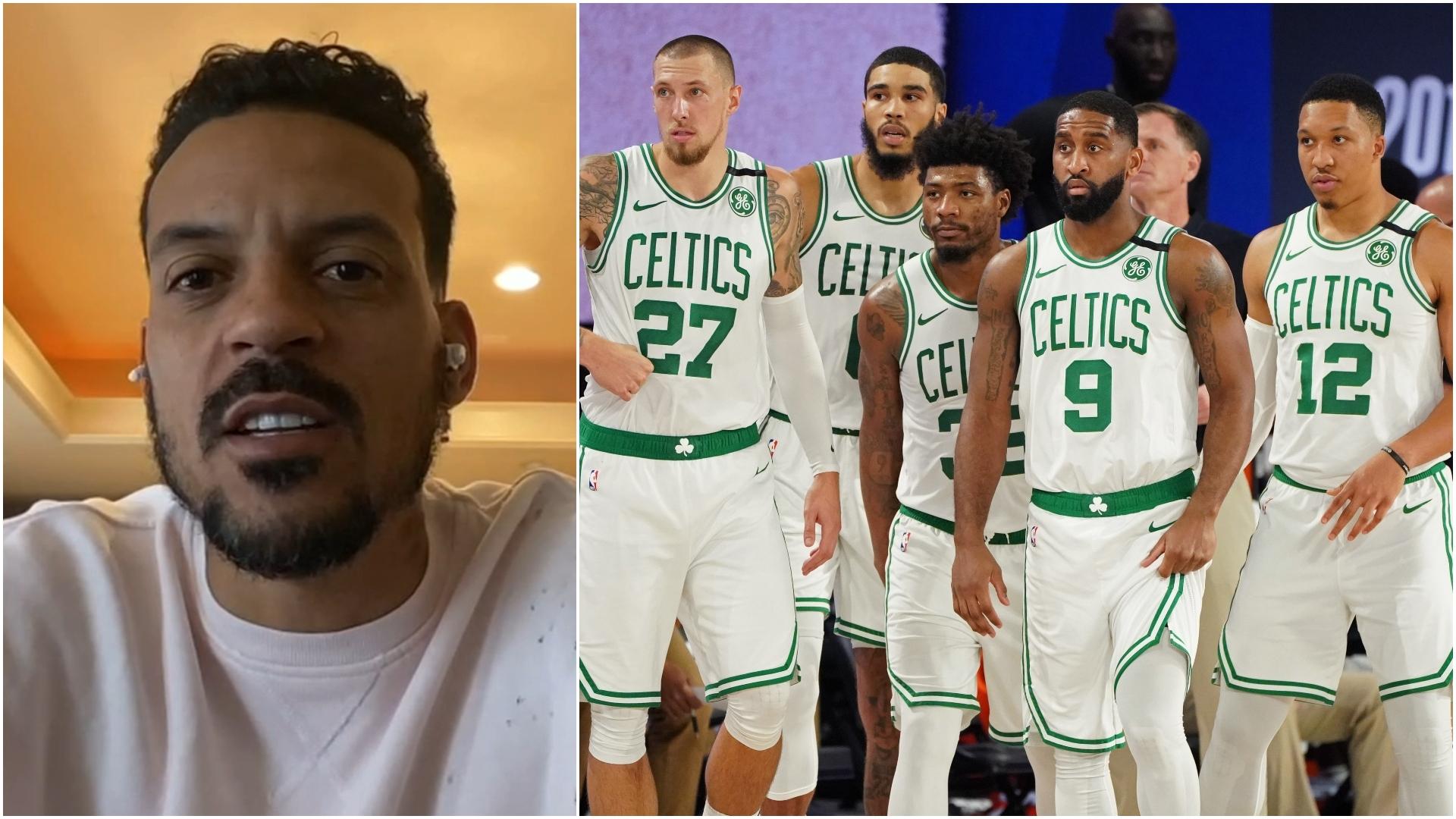 Barnes Picks His Winner Between Celtics And Raptors Watch Espn